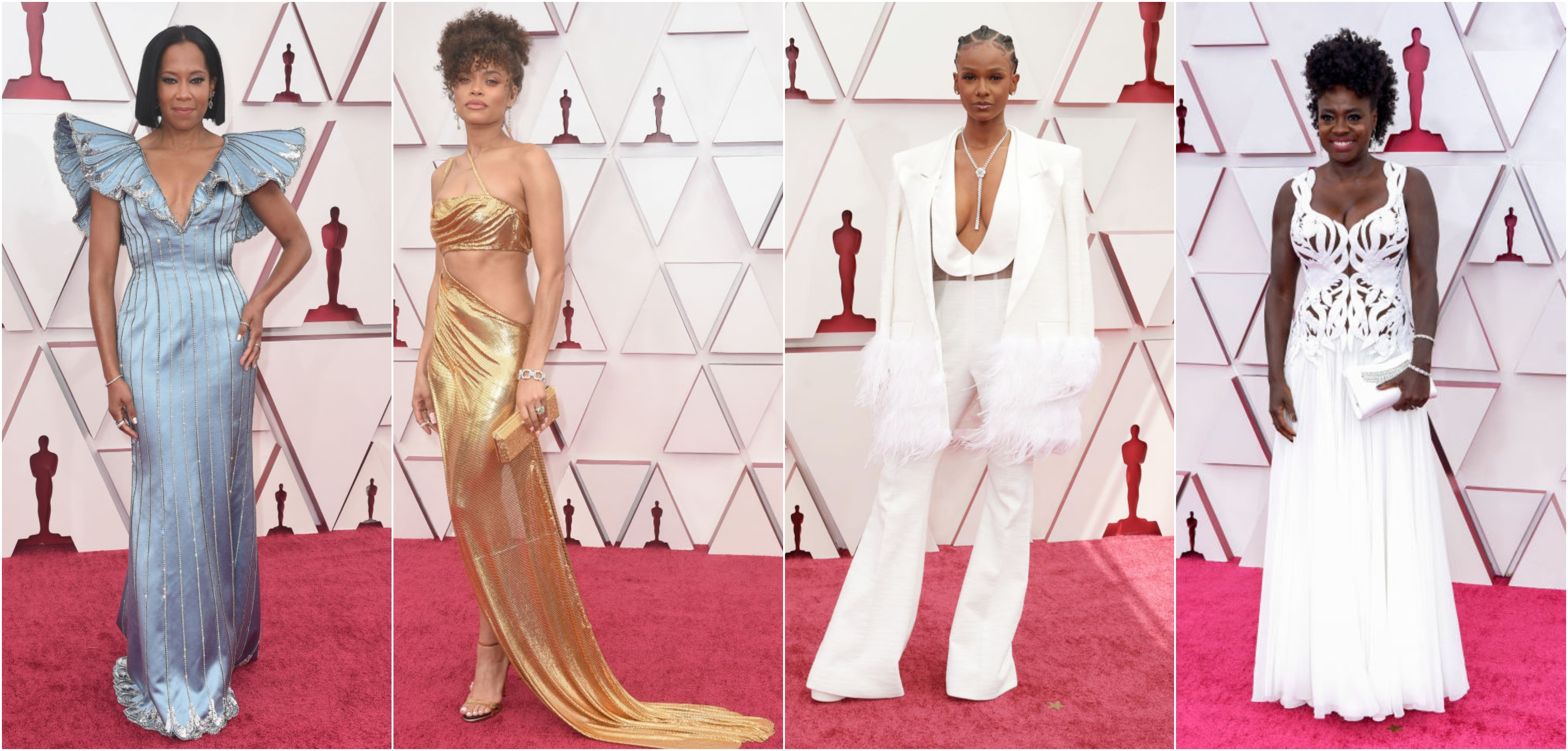 2021 Oscars Red Carpet