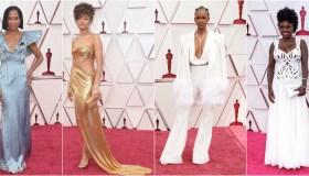 2021 Oscars Red Carpet