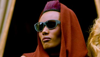 Grace Jones At The 'View To A Kill' Photo call