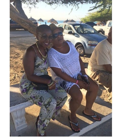 Marsha and mom
