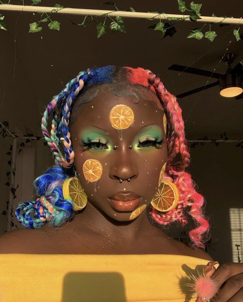 Salty Simmone makeup
