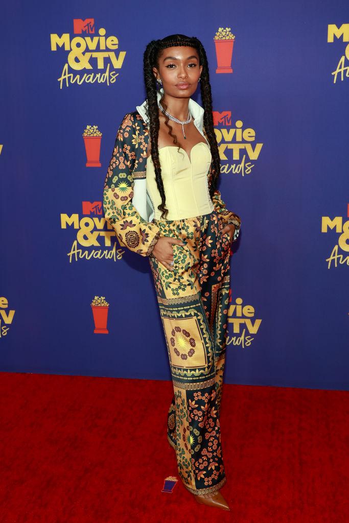 Yara Shahidi at the MTV Movie & TV Awards, 2021