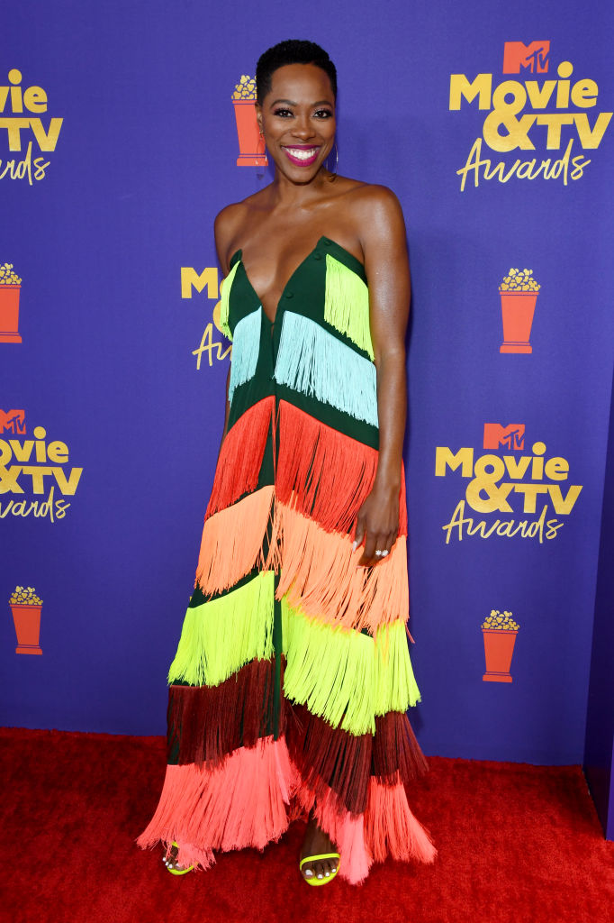 Yvonne Orji at the MTV Movie & TV Awards, 2021