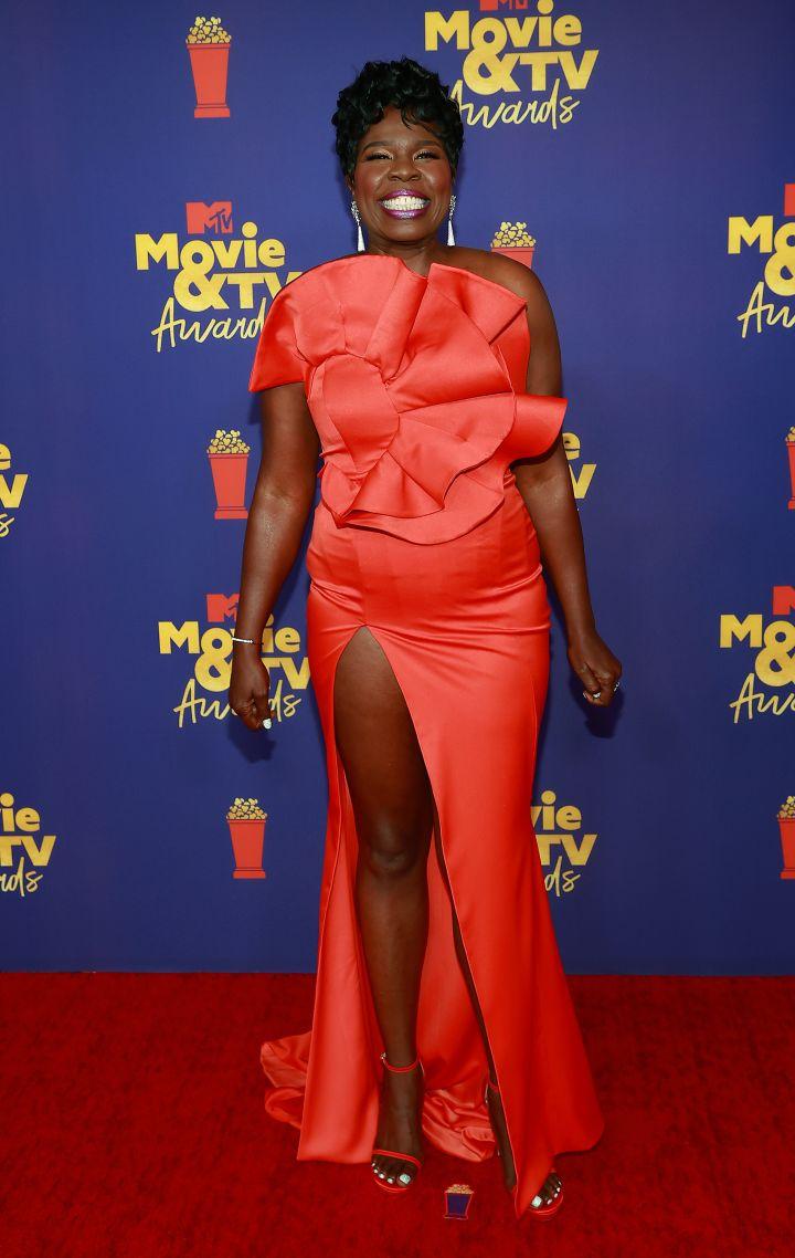 Leslie Jones at the MTV Movie & TV Awards, 2021