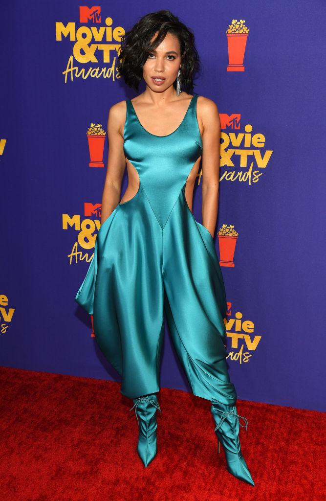 Jurnee Smollett at the MTV Movie & TV Awards, 2021