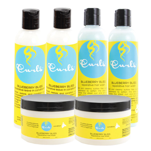 Curls Blueberry Bliss Wash Day Bundle