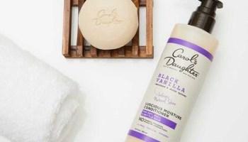 Carols Daughter Black Vanilla Moisturizing Sulfate Free Shampoo Bar