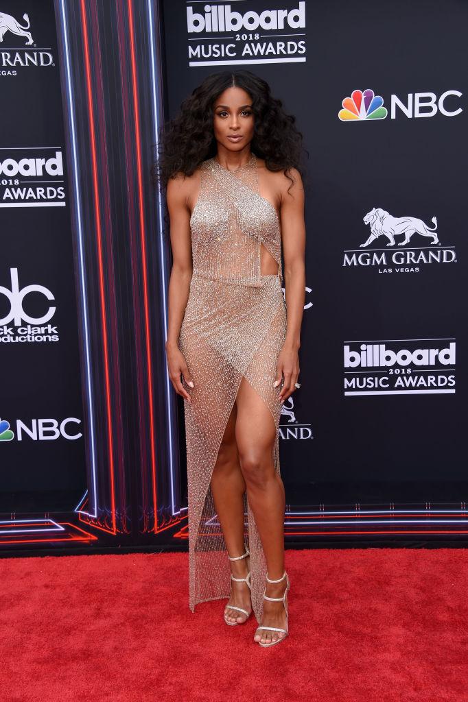 Ciara at the Billboard Music Awards, 2018
