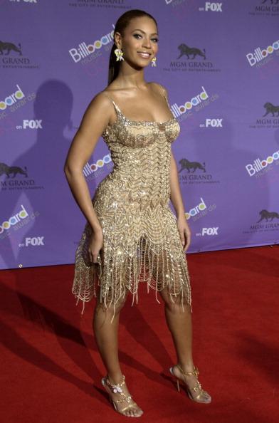 Beyoncé at the Billboard Music Awards, 2003