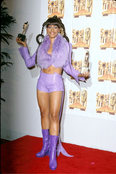 """Lisa """"Left Eye"""" Lopes at the 14th Annual Soul Train Music Awards"""