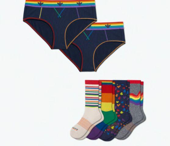 Bombas pride undies and socks