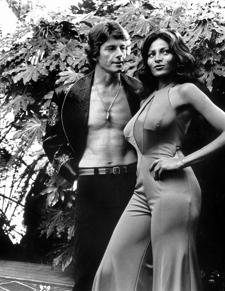 Peter Brown and Pam Grier in Foxy Brown