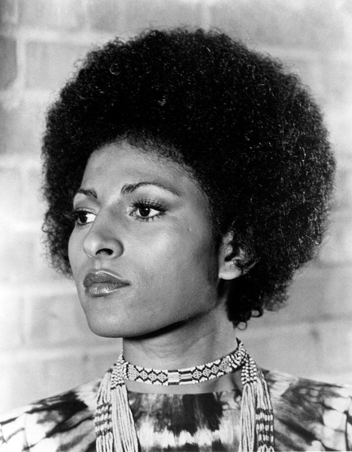 Pam Grier Rocks Her Fro