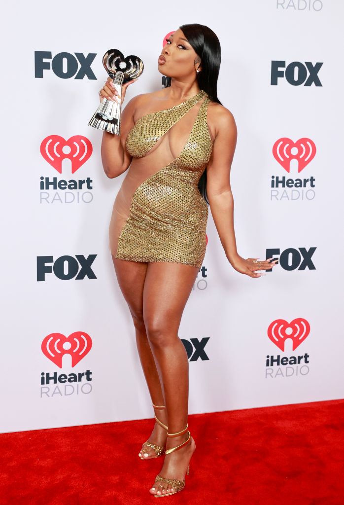 Megan Thee Stallion at the 2021 iHeartRadio Music Awards