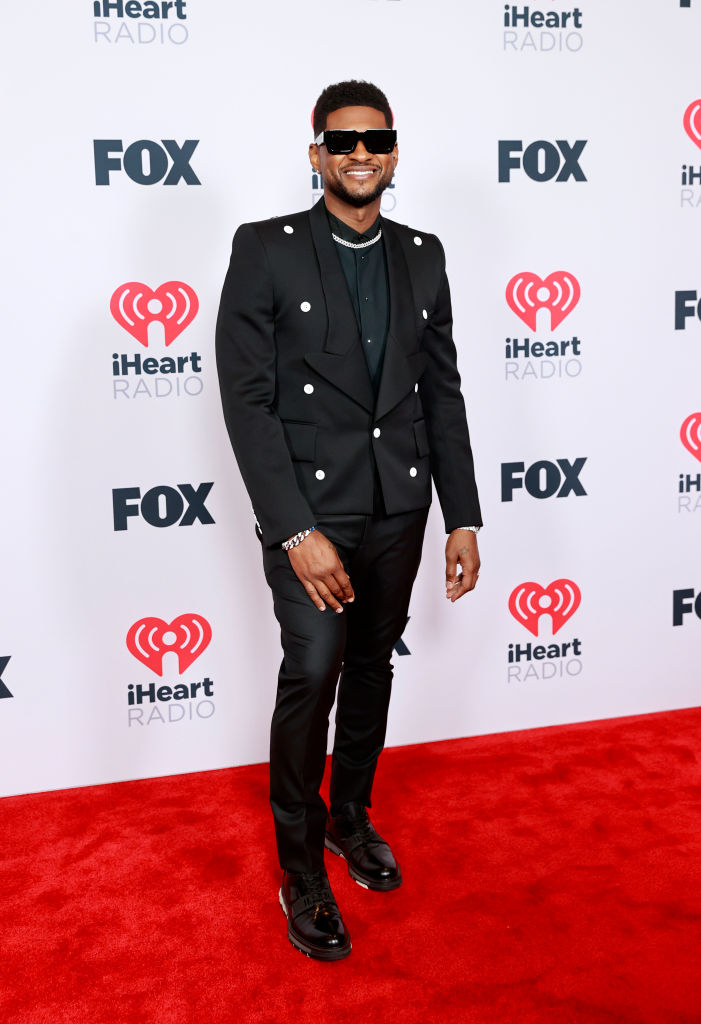 Usher at the 2021 iHeartRadio Music Awards