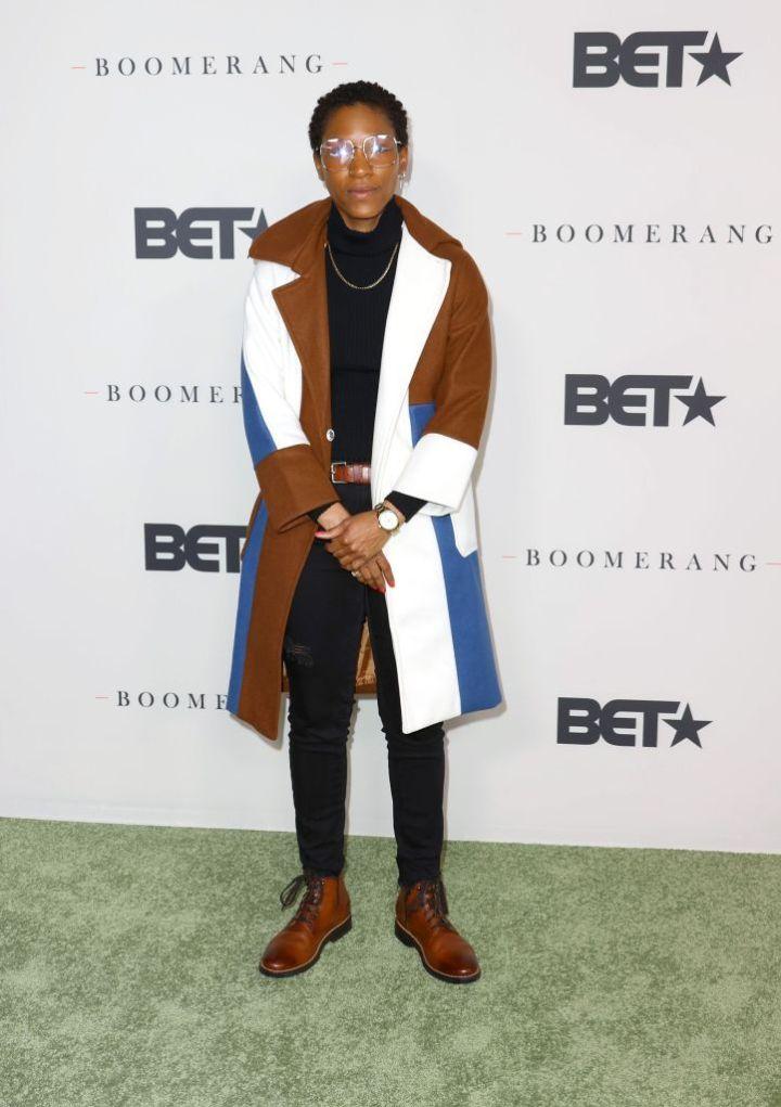 "Jonica Gibbs at the Premiere Of BET's ""Boomerang"" Season 2, 2020"