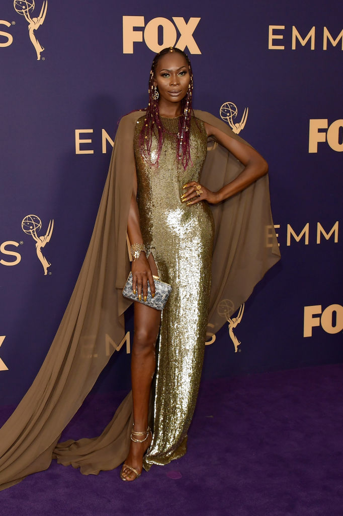 Dominique Jackson at the 71st Emmy Awards, 2019
