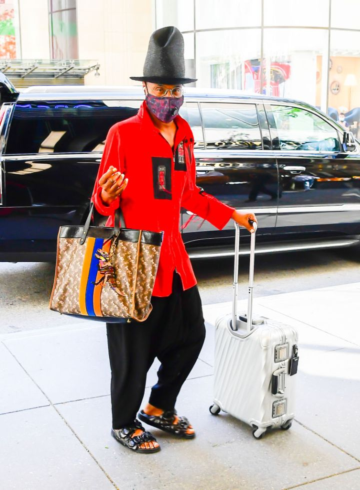 Billy Porter spotted out in NYC, 2021