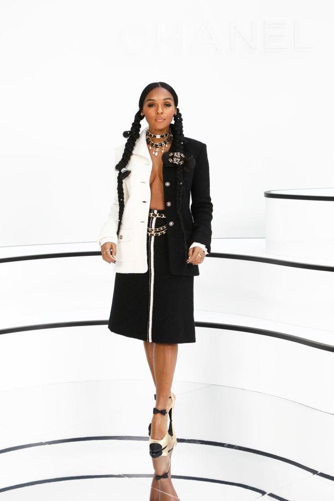 Janelle Monae during the Chanel Paris Fashion Week Womenswear Fall/Winter 2020/2021, 2020