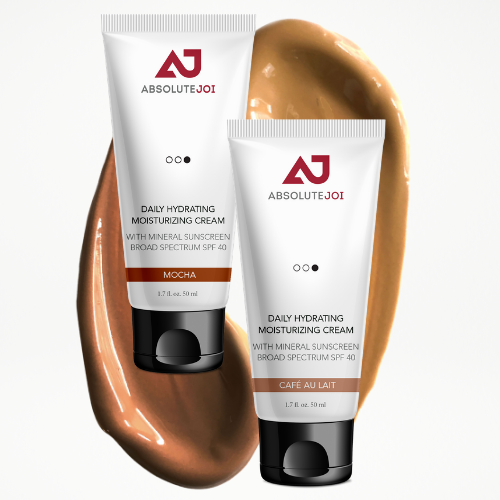 AbsoluteJOI's Daily Hydrating Moisturizing Cream with Mineral Sunscreen Broad Spectrum SPF 40