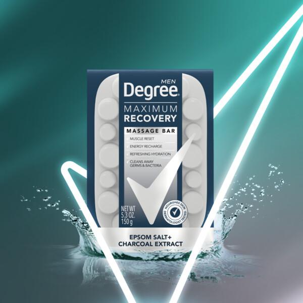 Degree Maximum Recovery Massage Bar Soap Eucalyptus Extract