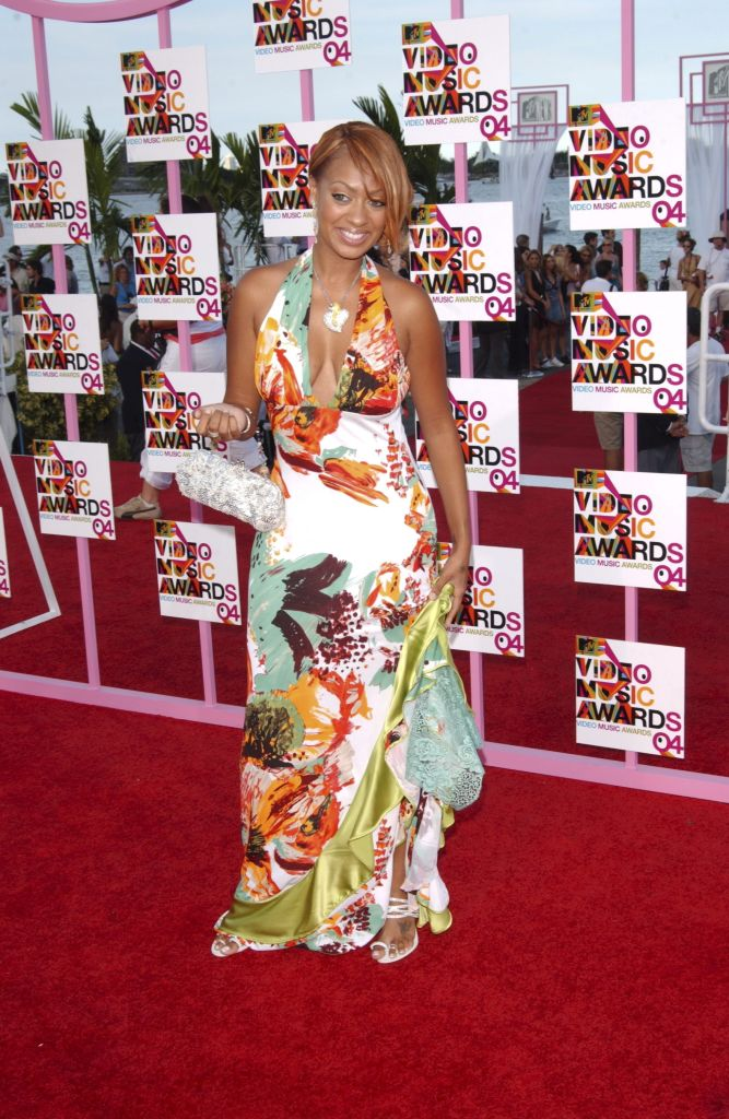 LaLa Anthony at the MTV Video Music Awards, 2004
