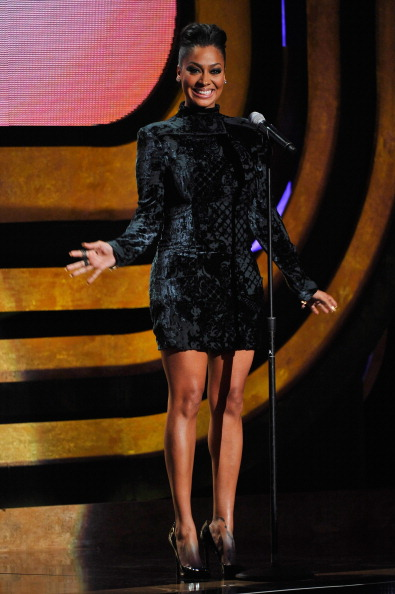 LaLa Anthony at the Black Girls Rock Event, 2012