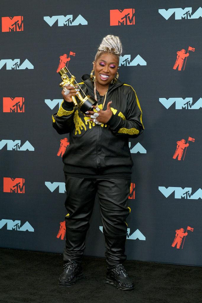 Missy Elliott at the MTV Video Music Awards, 2019