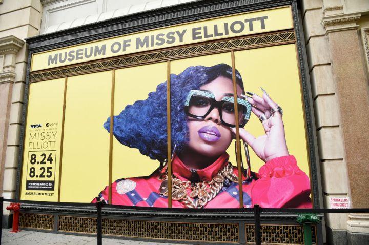 Missy Elliott at the MTV VMAs & Pepsi Celebrate The Museum Of Missy Elliott