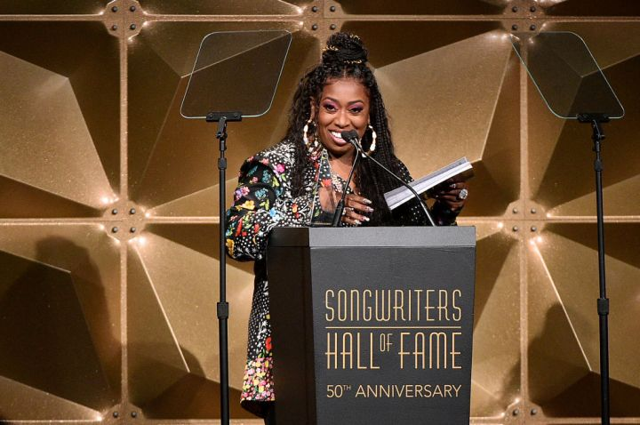 Missy Elliott at the Songwriters Hall Of Fame 50th Annual Induction And Awards Dinner, 2019