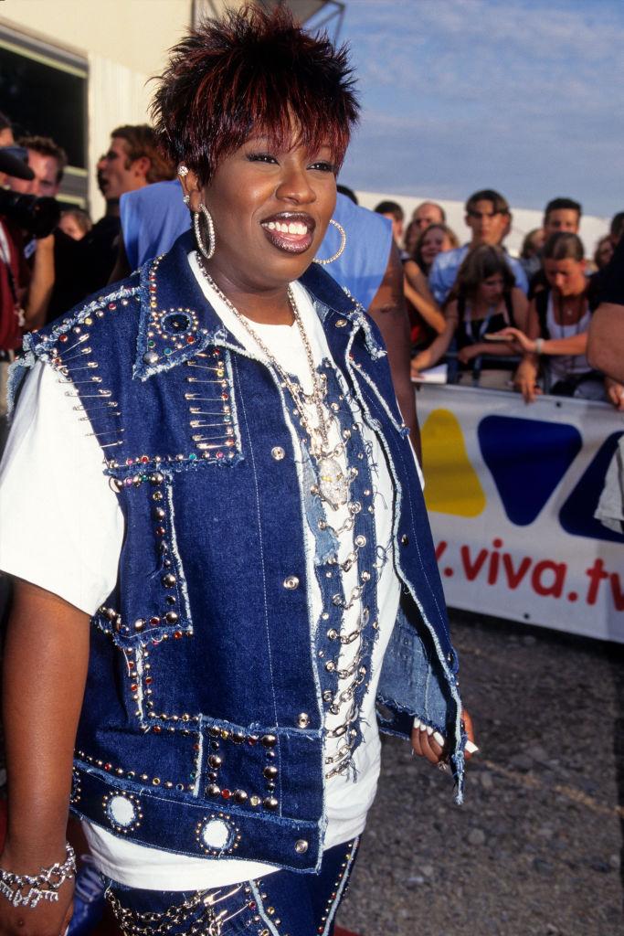 Missy Elliott at the Komet Awards, 2001
