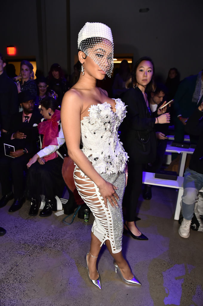 Saweetie at The Blonds NYFW show, 2020