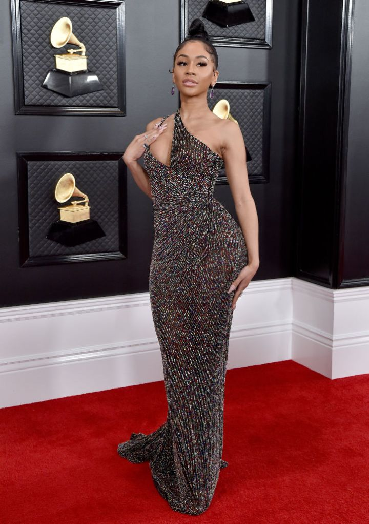 Saweetie at the 62nd Annual GRAMMY Awards, 2020
