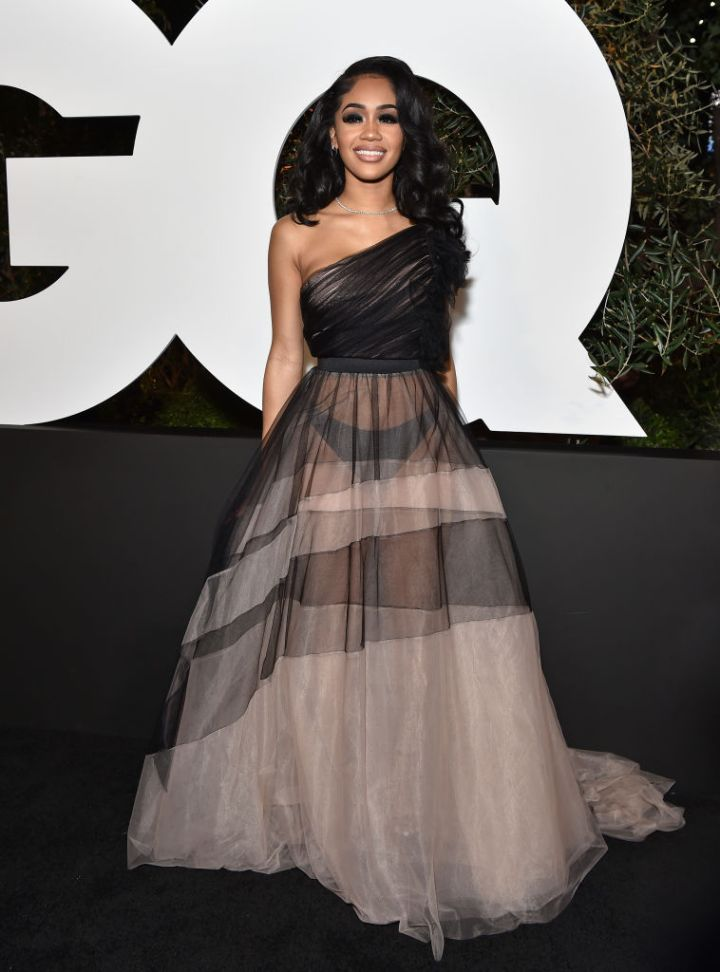 Saweetie at the GQ Men Of The Year Event, 2019