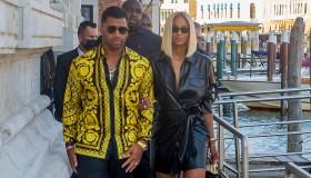 Celebrity Sightings In Venice