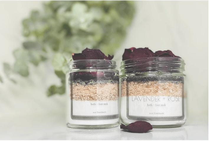 Lavender + Rose Soak