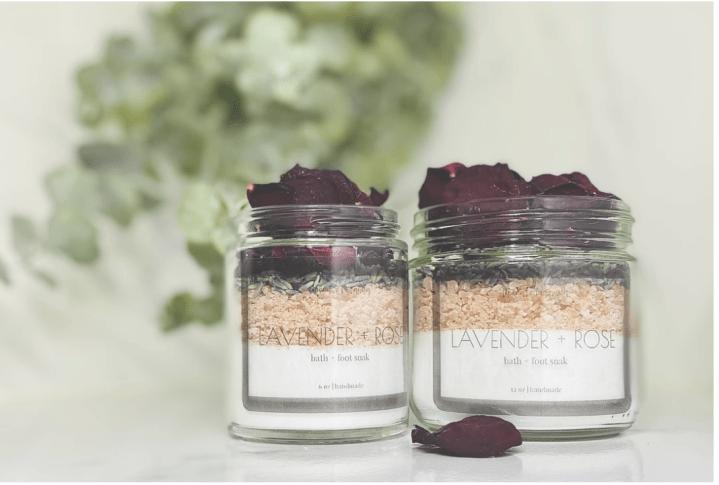Lavender + Rose Soak - Liberate Botánica Apothecary - $18.00