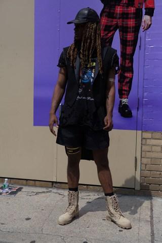 Street Style - New York Fashion Week: Men's S/S 2017 - Day 3