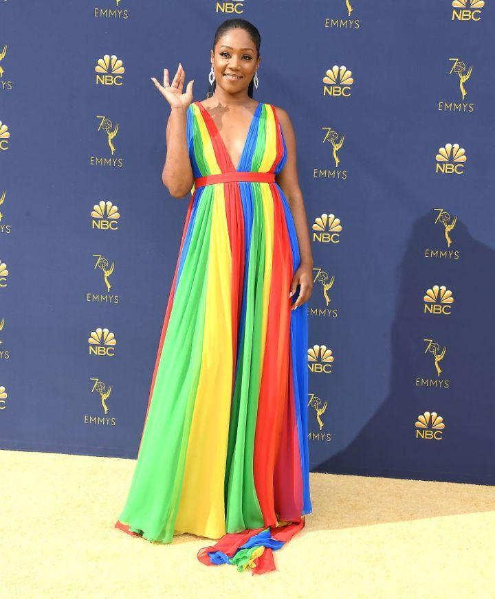 Tiffany Haddish At The 2018 Emmys
