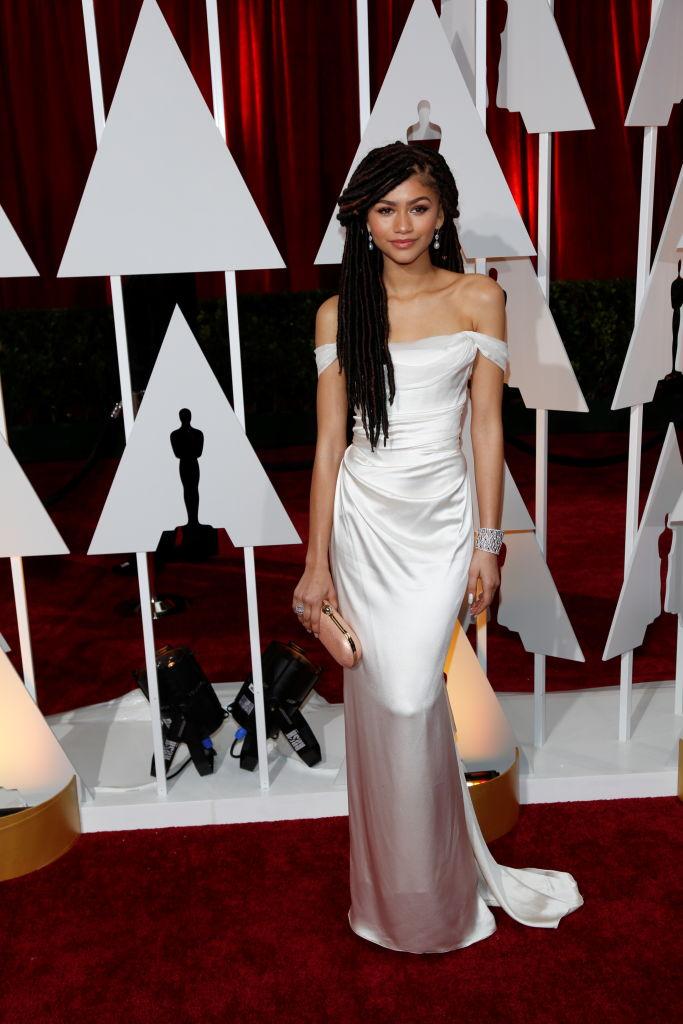 Zendaya At The 2015 Academy Awards