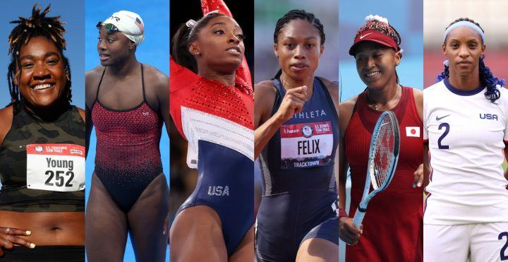 Black Olympic Woman Athletes
