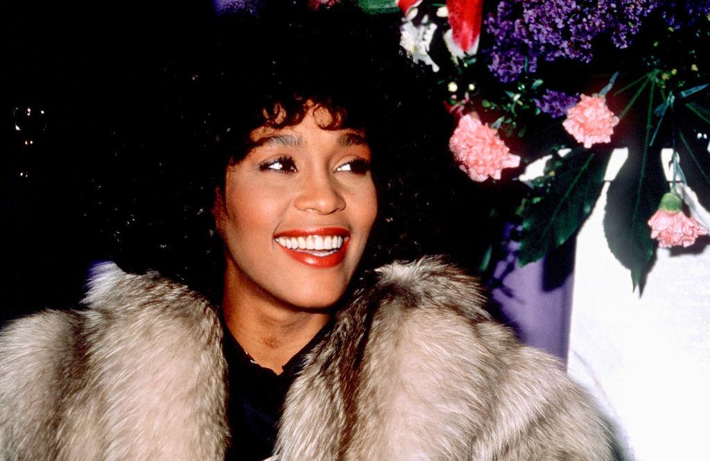 Whitney Houston At The Dorchester Hotel