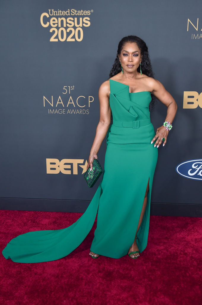 Angela Bassett at the 51st NAACP Image Awards, 2020