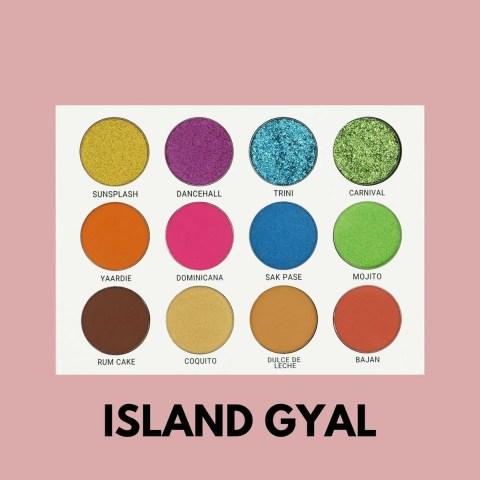 Prime Beauty Cosmetics Island Gyal Eyeshadow Palette