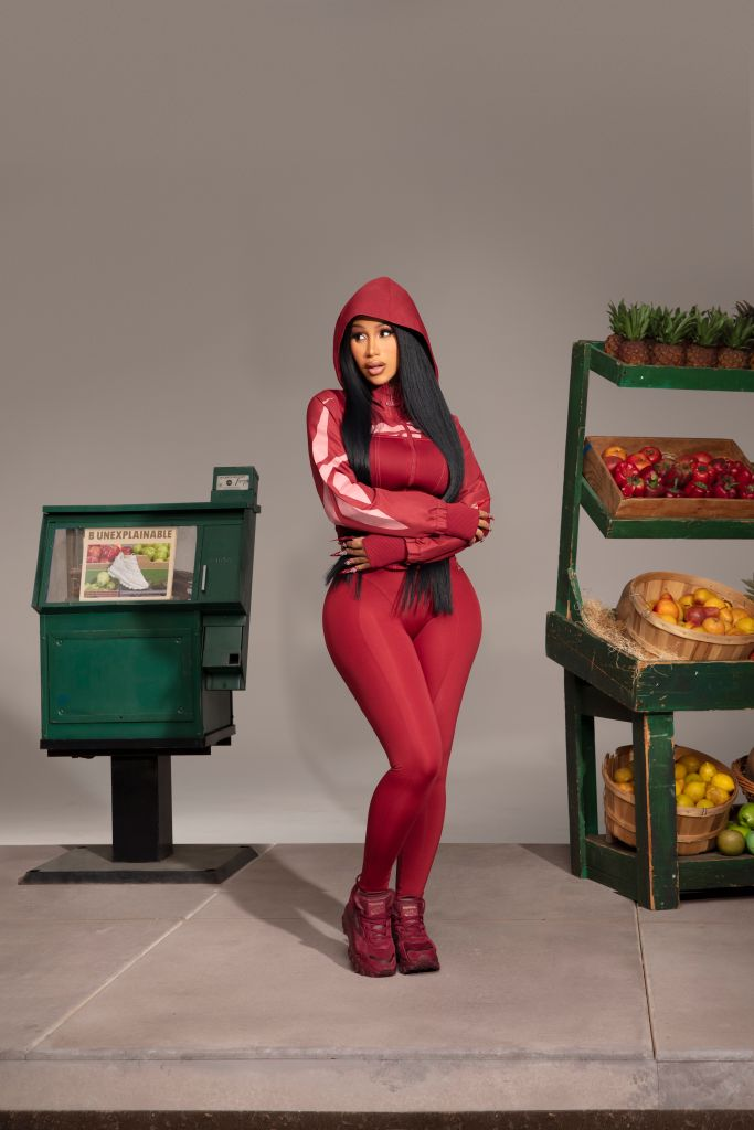 Cardi B X Reebok 'Let Me Be… In My World' Capsule Collection