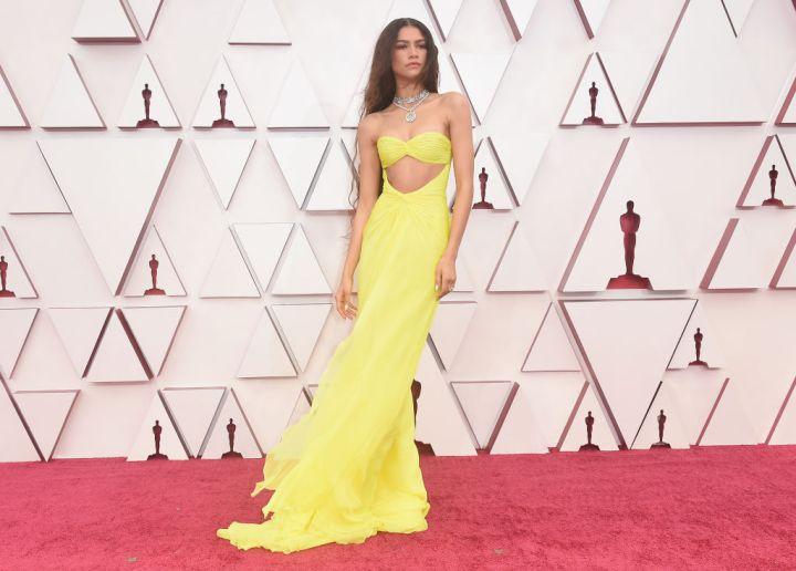 Zendaya at the 93rd Annual Academy Awards, 2021