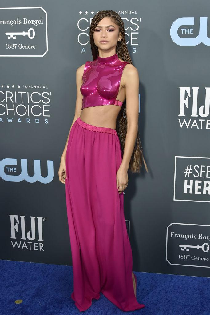 Zendaya at the 25th Annual Critics' Choice Awards, 2020