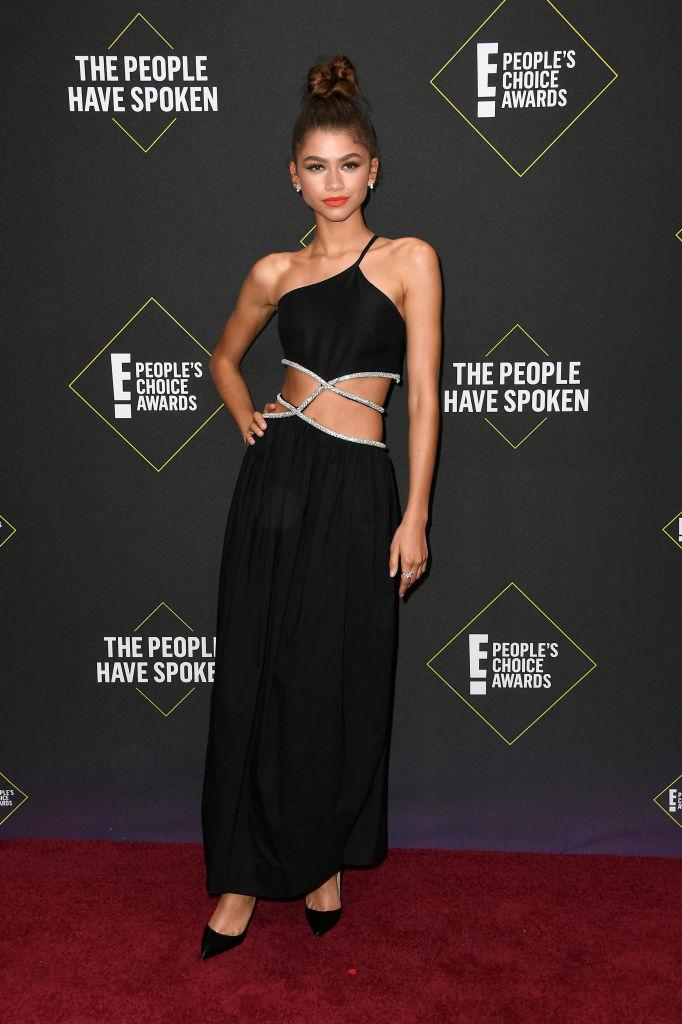 Zendaya at the 2019 E! People's Choice Awards, 2019