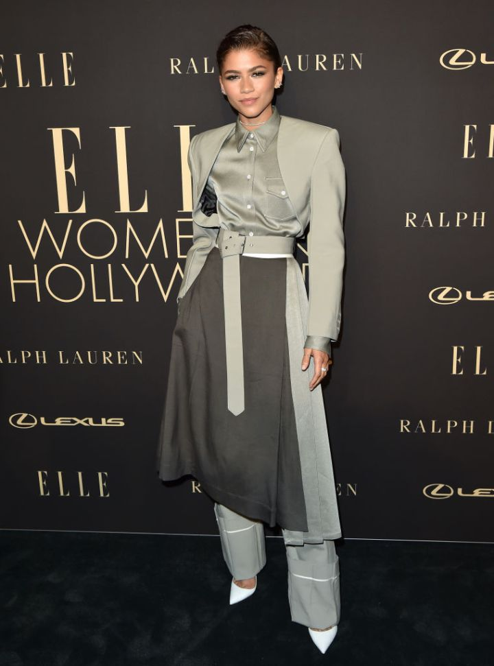Zendaya at the ELLE Women In Hollywood event, 2019