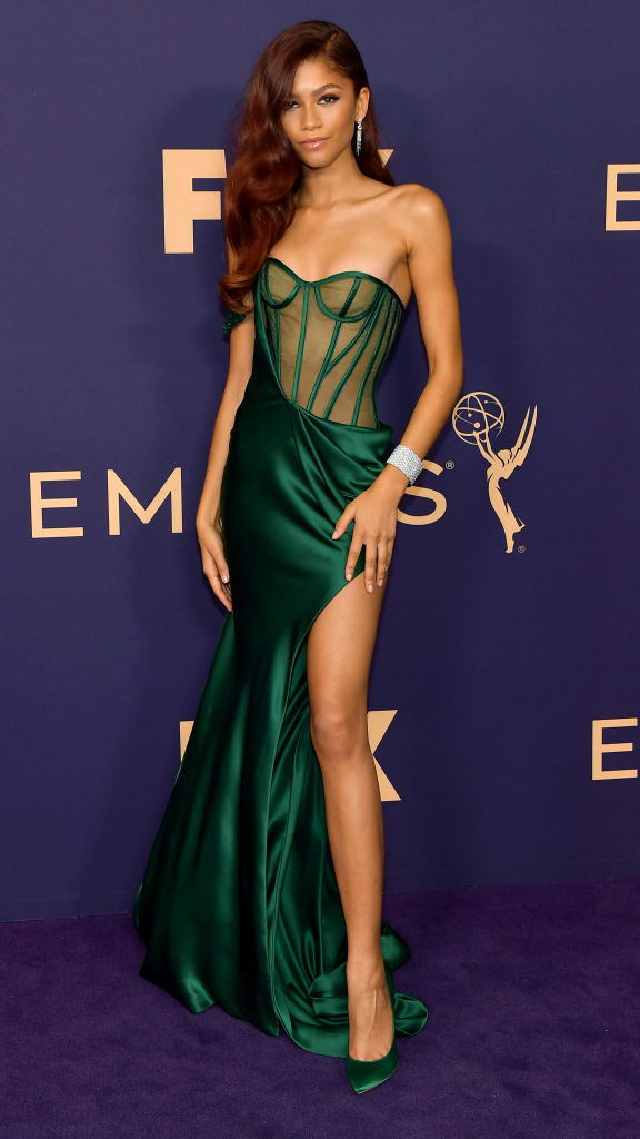 Zendaya at the 71st Emmy Awards, 2019